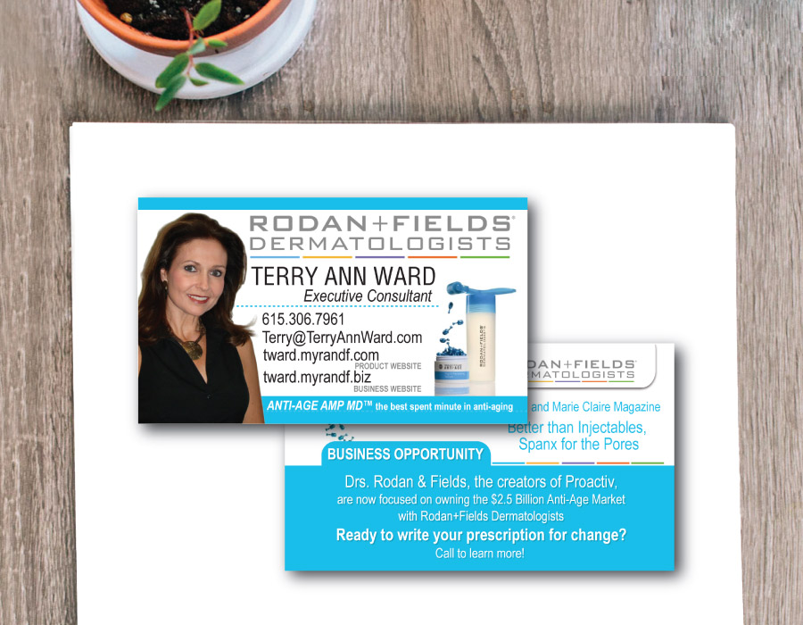 Rodan + Fields Business Card – Franklin, TN