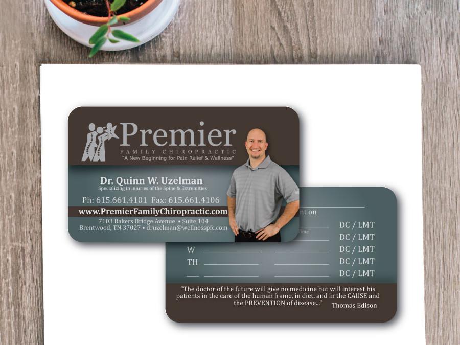 Premier Chiropractic Business Card – Franklin, TN