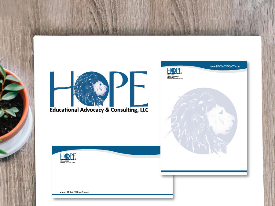 Hope Advocacy Logo and Stationary Set – Franklin, TN