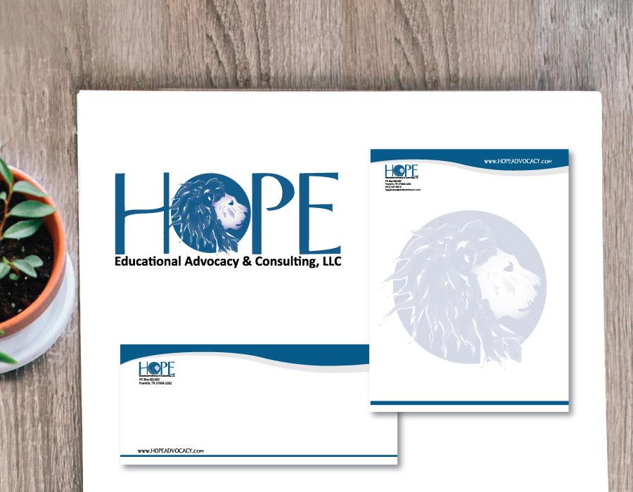 Hope Advocacy Logo and Stationary Set – Franklin, TN