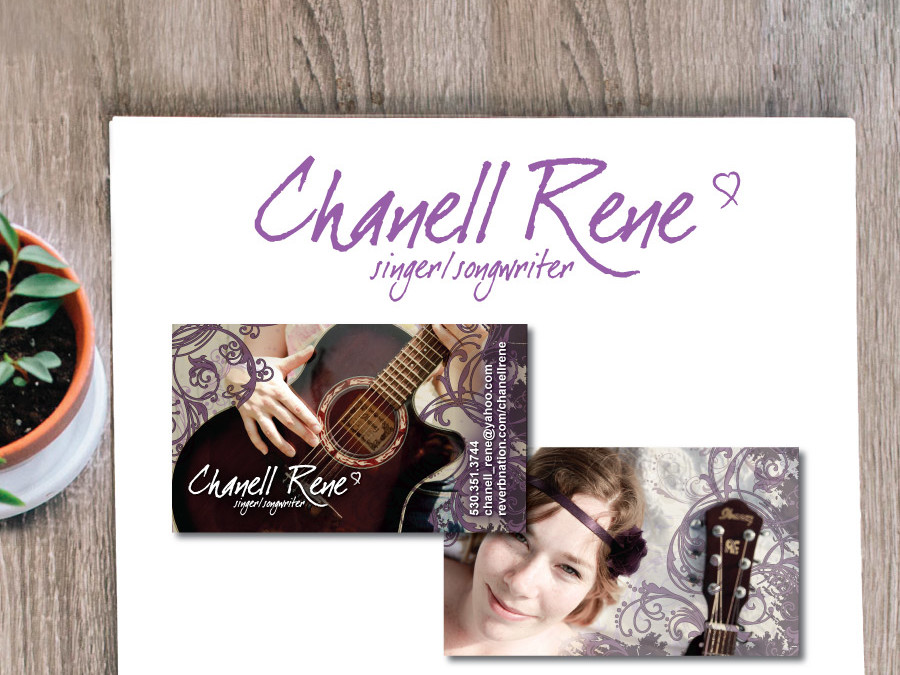 Singer/Songwriter Logo and Business Card – Franklin, TN